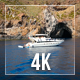 Yacht And Rocks - VideoHive Item for Sale