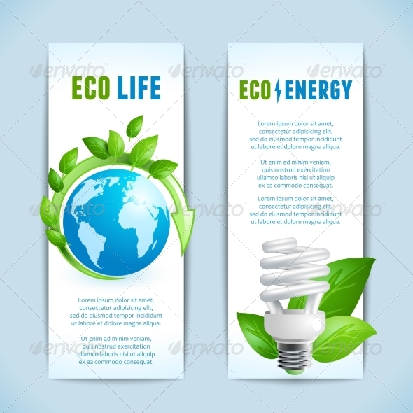 GraphicRiver Ecology Vertical Banners 8617624