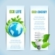 Ecology Vertical Banners - GraphicRiver Item for Sale