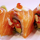 Japanese Food Salmon Sushi - VideoHive Item for Sale