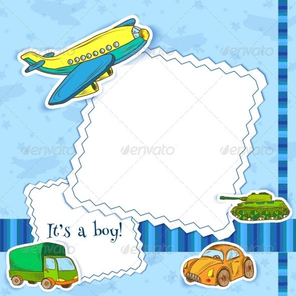 GraphicRiver Toys Frame Boys 8617683
