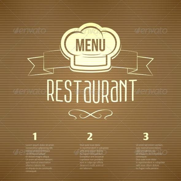 GraphicRiver Restaurant Menu Template 8617714