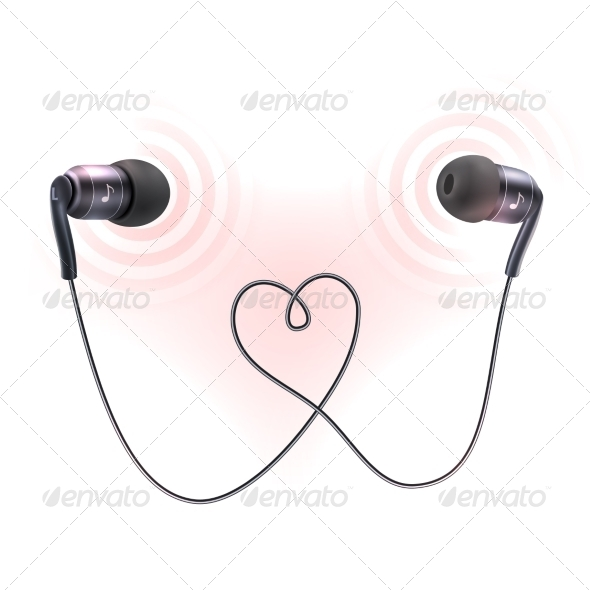 GraphicRiver Headphones Earplugs Poster 8617722