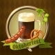 Beer Mugs Octoberfest Poster - GraphicRiver Item for Sale