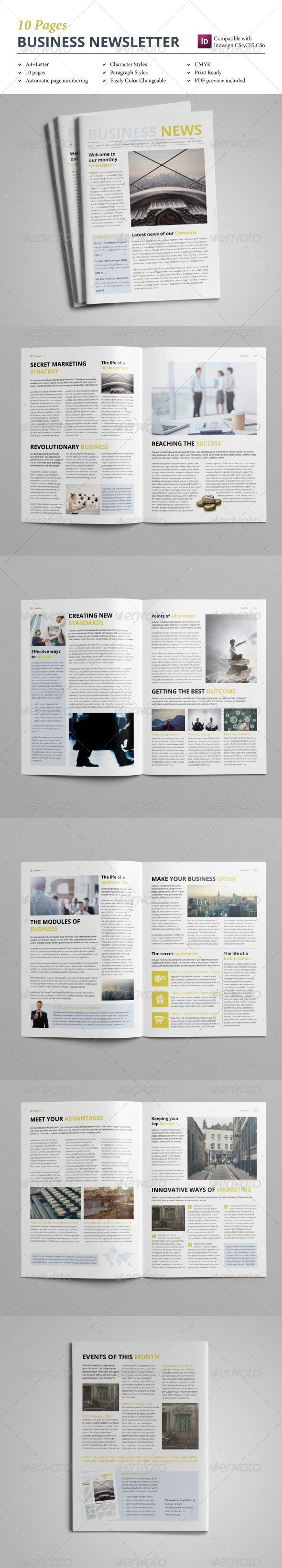 GraphicRiver Business Newletter vol 2 8617901