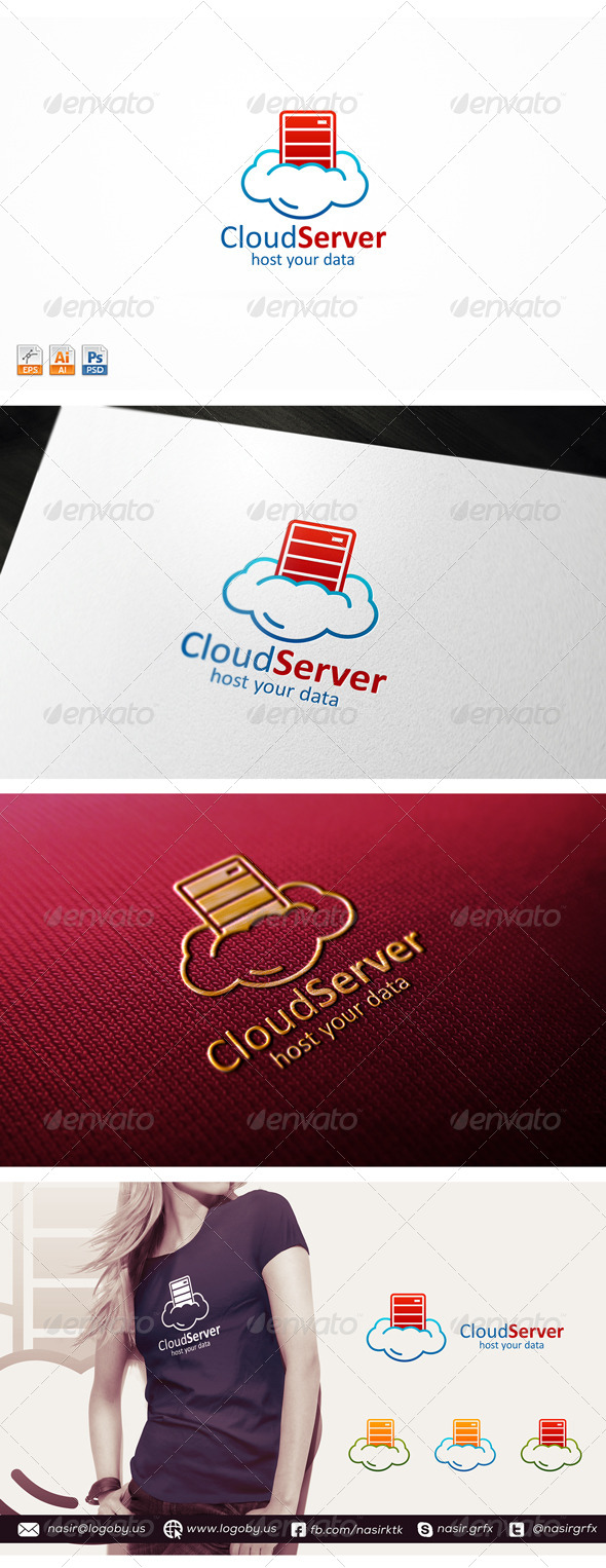 GraphicRiver Cloud Server 8618440