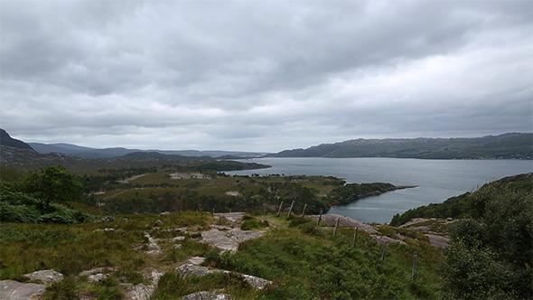 Landscape Scotland Panorama