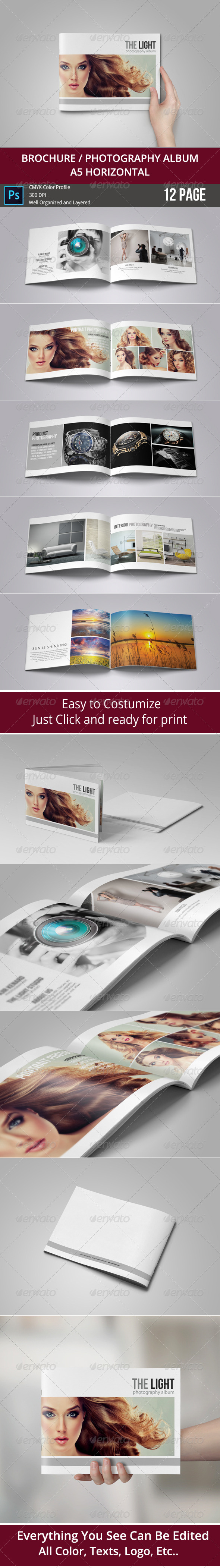 GraphicRiver Brochure Photography Album 8619146