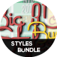 BIG 3D Styles Bundle - GraphicRiver Item for Sale
