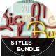 BIG 3D Styles Bundle - GraphicRiver Item for Sale
