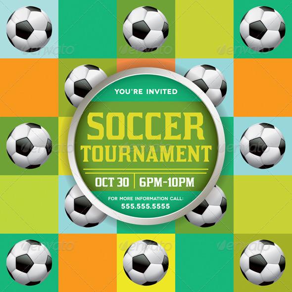 GraphicRiver Vector Soccer Tournament Illustration 8619262