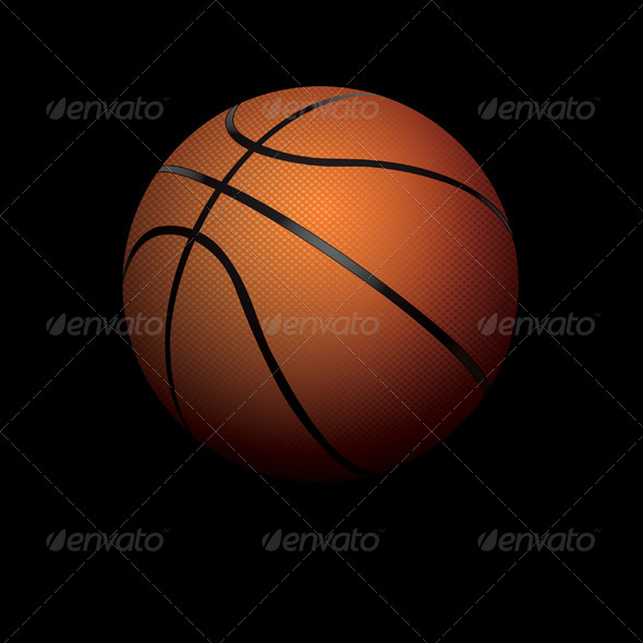 GraphicRiver Basketball Illustration 8619271