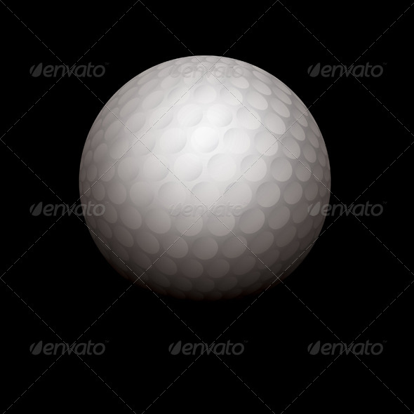 GraphicRiver Golf Ball Illustration 8619275