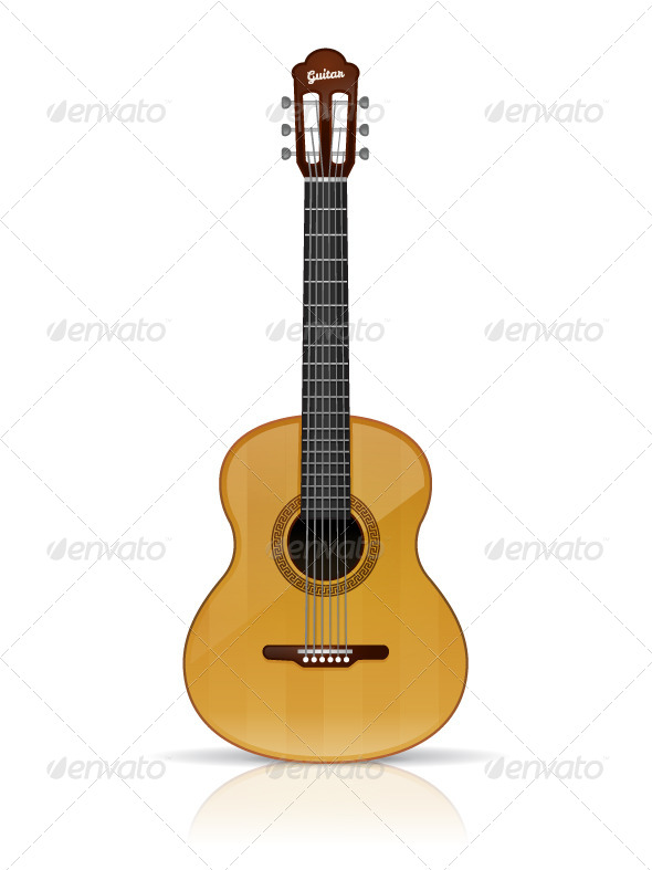 GraphicRiver Acoustic Guitar 8619413