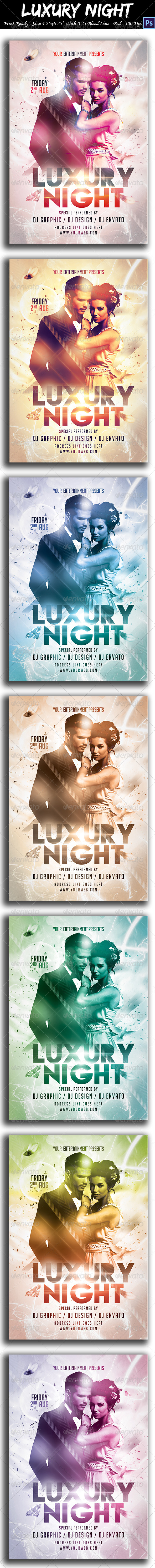 GraphicRiver Luxury Party Flyer 8619495
