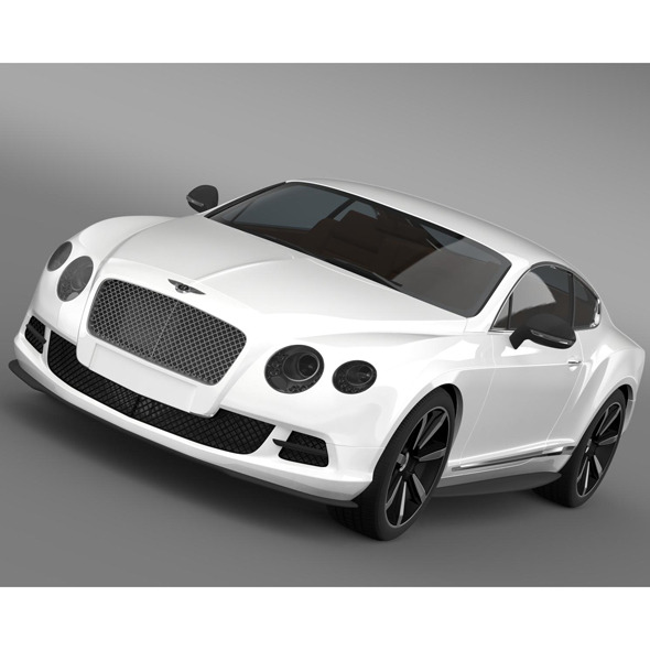 3DOcean Bentley Continental GT Mulliner Styling 2011 8619758