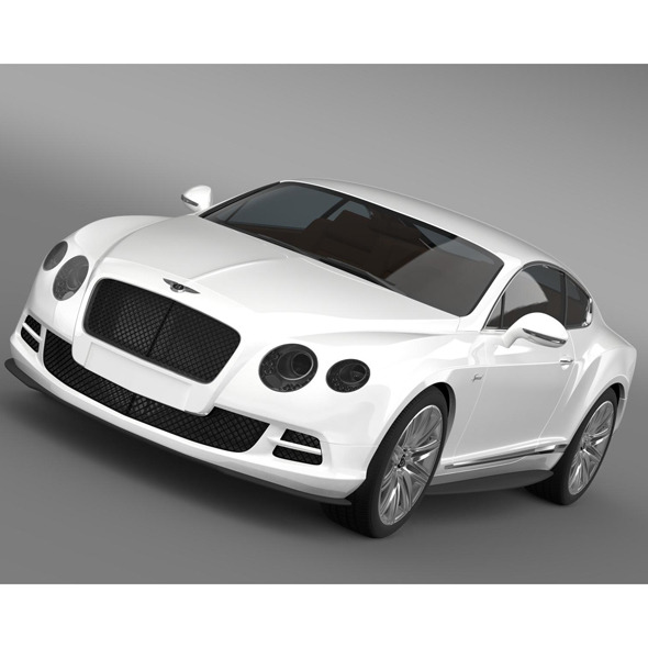 3DOcean Bentley Continental GT Speed 2014 8619759