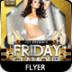 Friday Glamour Party Flyer - GraphicRiver Item for Sale