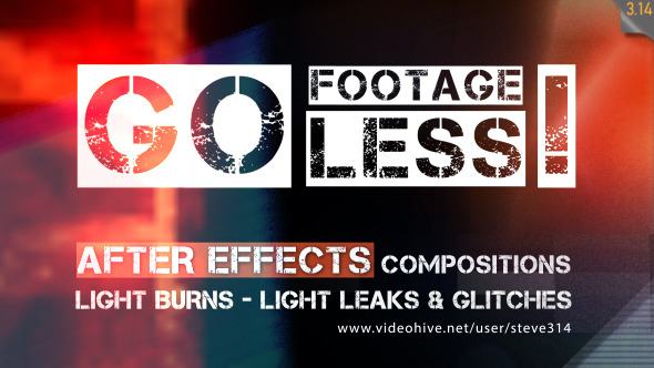 Footageless Light Leaks and Glitches!