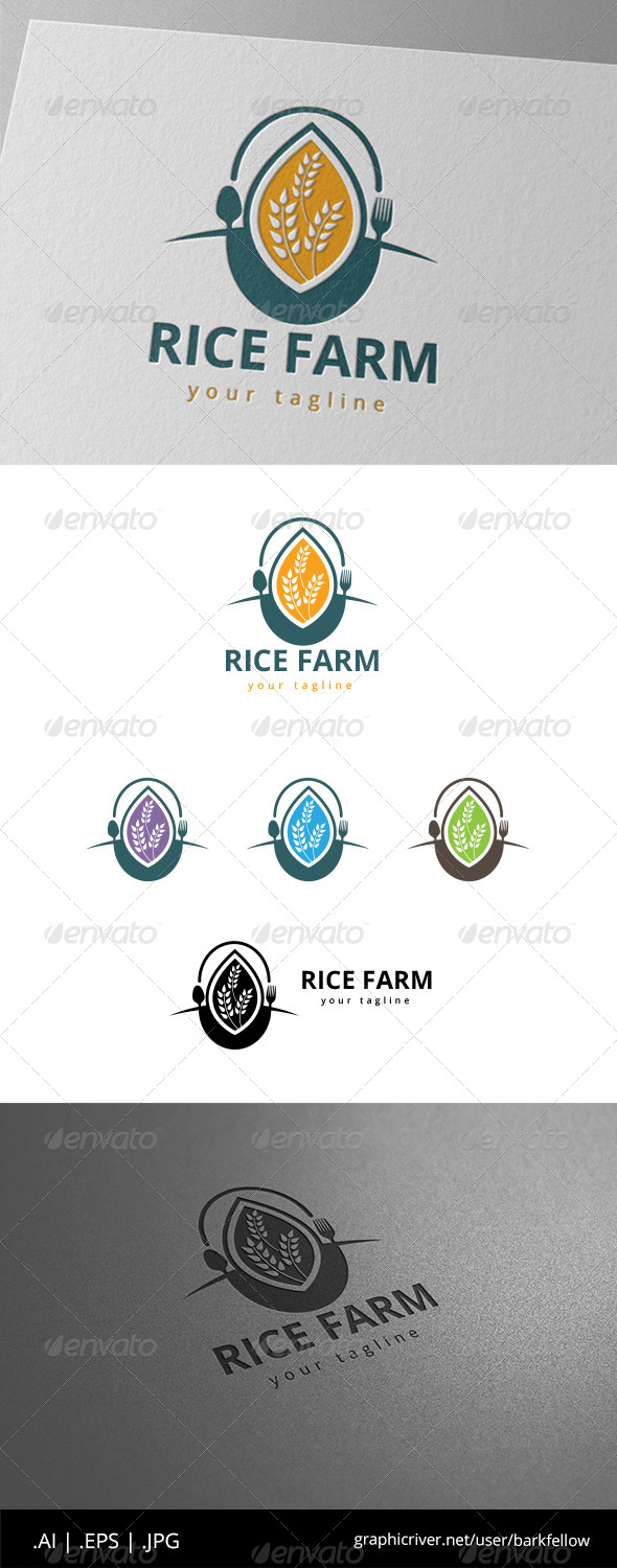 Rice Farm Logo