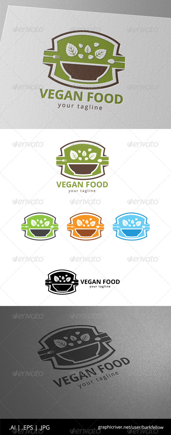 GraphicRiver Organic Food Logo 8619937