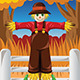 Scarecrow in the Fall Season - GraphicRiver Item for Sale