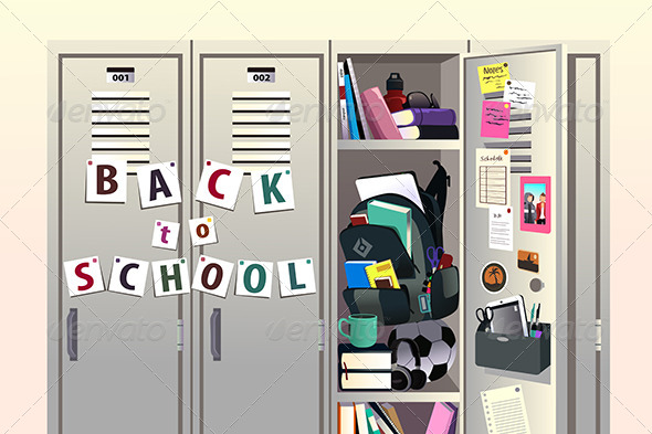 GraphicRiver Back to School Background 8620580