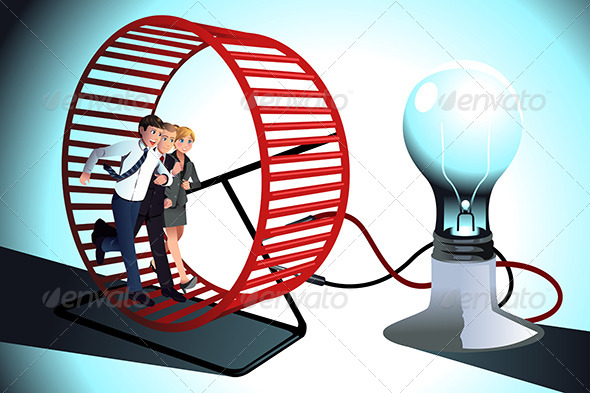 GraphicRiver Business Teamwork Concept 8620595