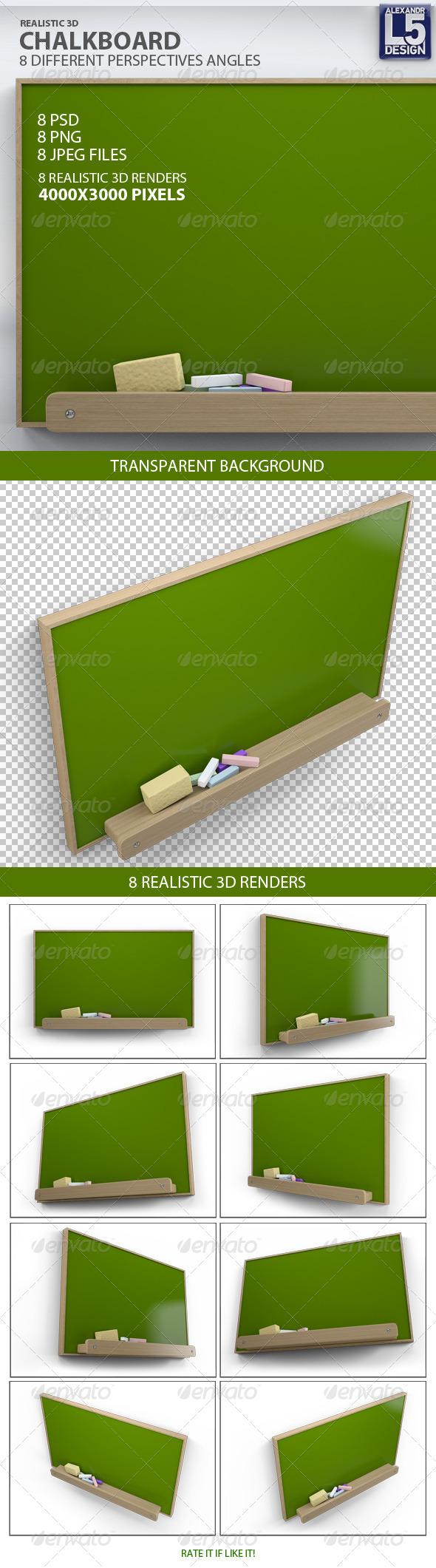 GraphicRiver Chalkboard 8620664