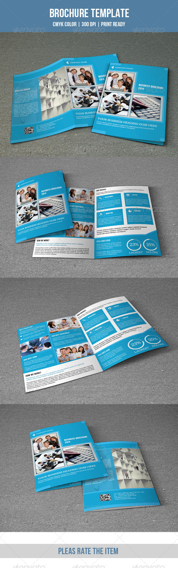 GraphicRiver Corporate Bifold Brochure-V114 8620678