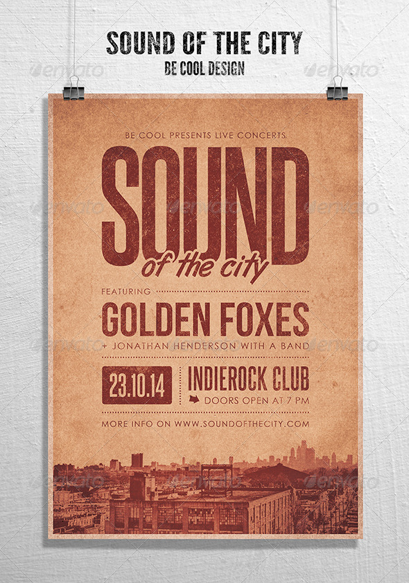 GraphicRiver Indie Flyer Poster 8620680