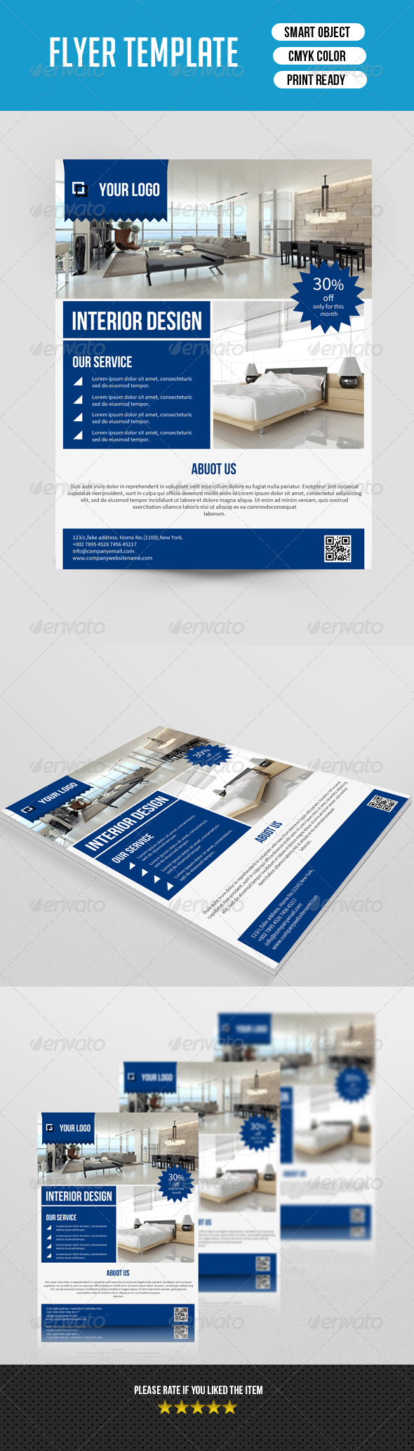 GraphicRiver Corporate Flyer Template-V114 8620698