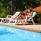 Using Smart Phone by the Poolside - VideoHive Item for Sale
