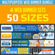 Web Banner Ad Design Bundle  - GraphicRiver Item for Sale