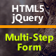 Ajax HTML5 jQuery Multi-Step Form