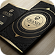 Gold And Black Business Card - GraphicRiver Item for Sale