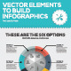 Vector Infographic Chart Elements to Business Data - GraphicRiver Item for Sale