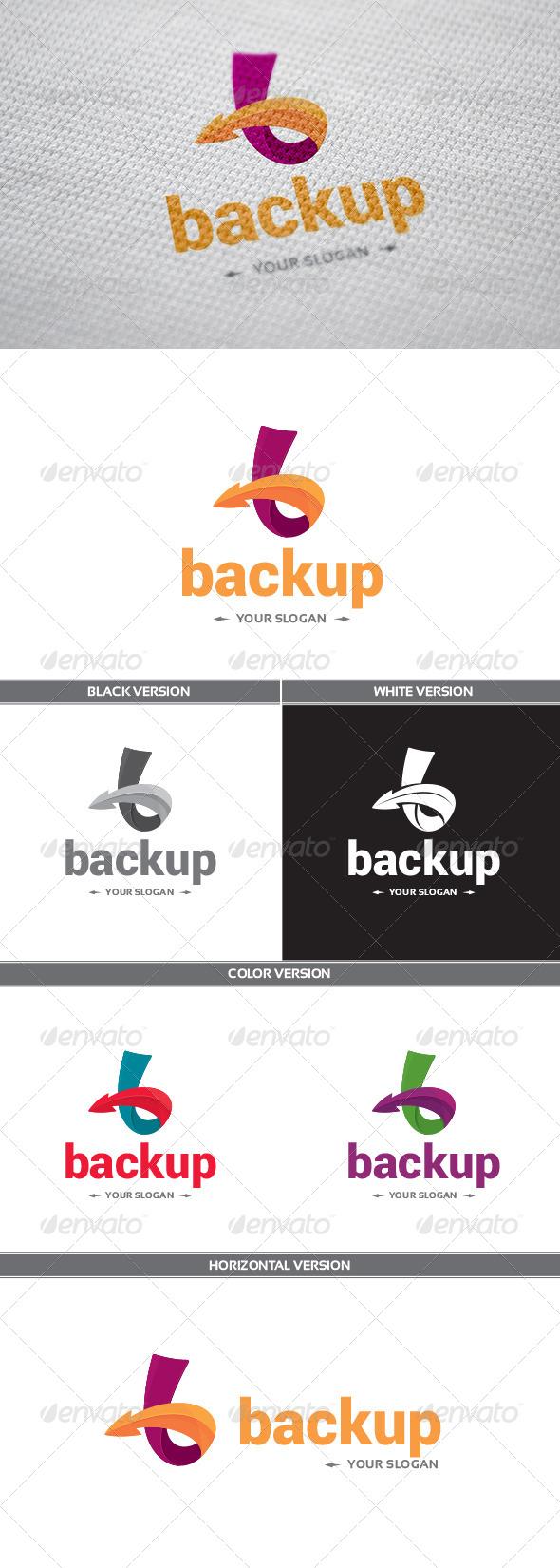 GraphicRiver Backup Logo 8621053