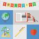 Education flat illustration concept - PhotoDune Item for Sale