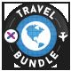 Travel Banner Bundle - 5 Sets - GraphicRiver Item for Sale