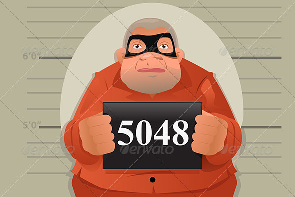 GraphicRiver Criminal Mug Shot 8621367