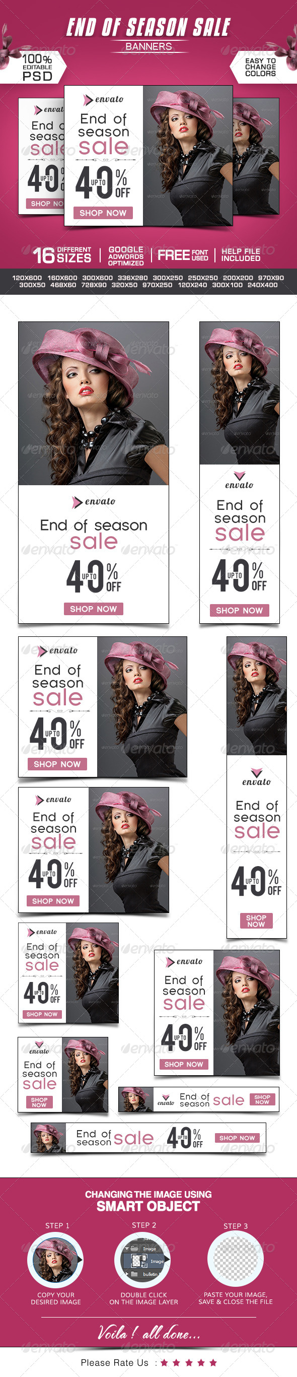 GraphicRiver End of Season Banners 8621416