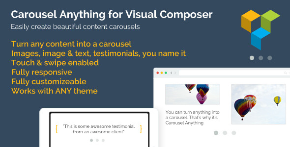 CodeCanyon Carousel Anything for Visual Composer 8621711
