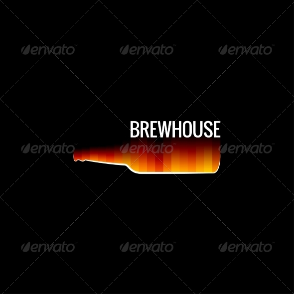 GraphicRiver Beer Glass Fire Design 8621782