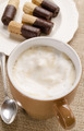 freshly boiled coffee with milk froth - PhotoDune Item for Sale