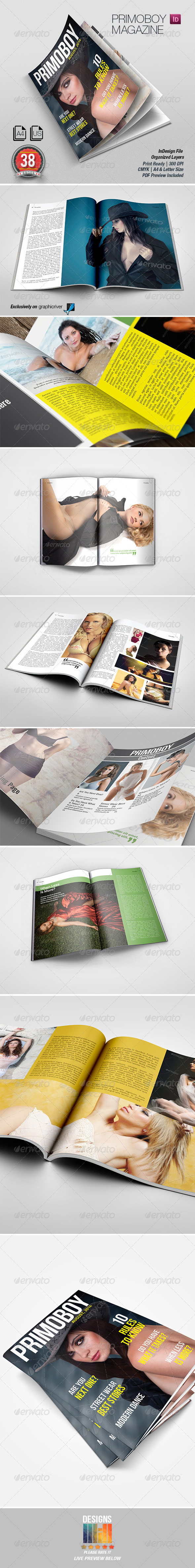 GraphicRiver Primoboy Magazine 8621966