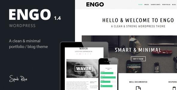 Engo - Smart & Minimal WordPress Theme