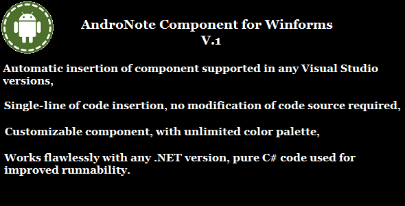 CodeCanyon AndroNote NET 8585145