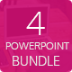 4in1 Powerpoint Bundle - GraphicRiver Item for Sale