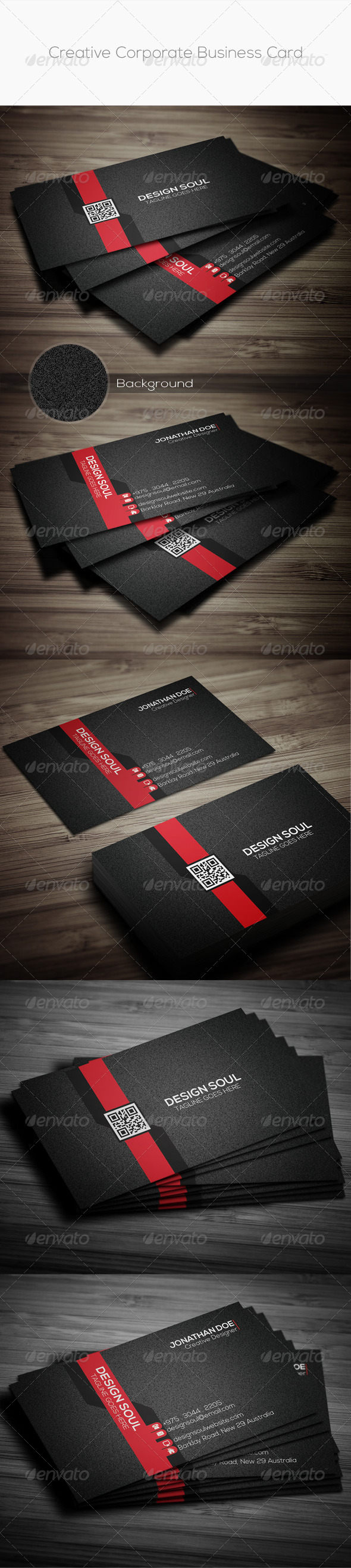 GraphicRiver Creative Corporate Business Card 8622666